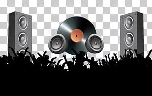Party Nightclub Disco Poster PNG
