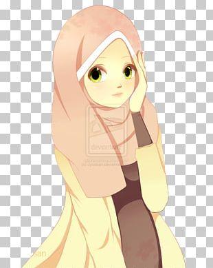Hijab Anime Muslim Islam PNG