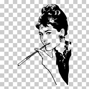 Holly Golightly Breakfast At Tiffany's Phonograph Record Painting Photography PNG