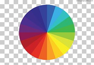 Color Wheel Graphic Design PNG