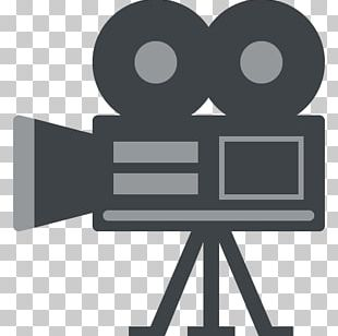 Emoji Clapperboard Movie Camera Film PNG