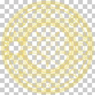 Magic Circle Drawing PNG