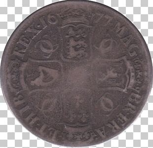 Coin Crown Silver Shilling Gold PNG