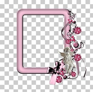 Frame Pink Digital Photo Frame PNG
