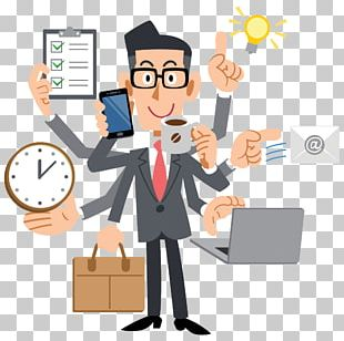 Human Multitasking Businessperson Management Project Manager PNG