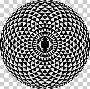 Mandala Sacred Geometry PNG