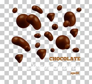 Coffee Praline Chocolate-coated Peanut Bonbon PNG