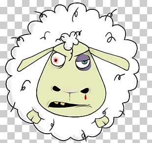 Sheep Drawing Illustration Animation PNG