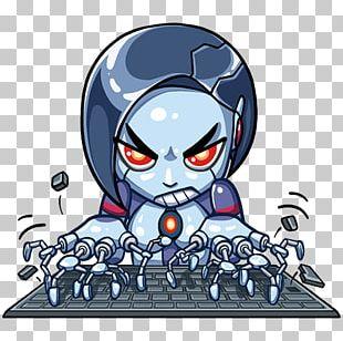Telegram Sticker Go Robot Internet Bot PNG