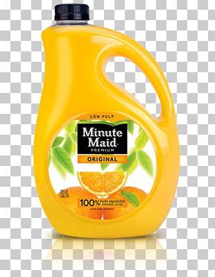 Minute Maid Original Low Pulp Orange Juice Minute Maid Original Low Pulp Orange Juice Juice Vesicles PNG