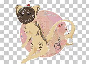 Mammal Illustration Cartoon Pink M Character PNG
