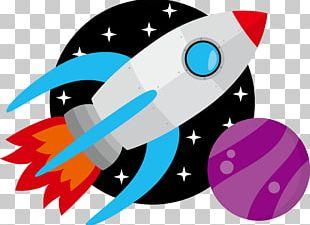 Rocket Launch Spacecraft Astronaut PNG
