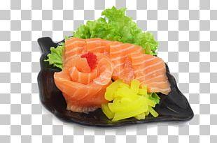 Sashimi Smoked Salmon Sushi Lox Onigiri PNG