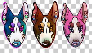 Mask Animal Font PNG