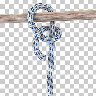 Rope Knot Round Turn And Two Half-hitches Half Hitch PNG