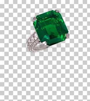 Emerald Ring Jewellery Gemstone Diamond PNG