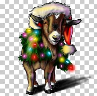 Horse Sheep Goat Cattle Illustration PNG