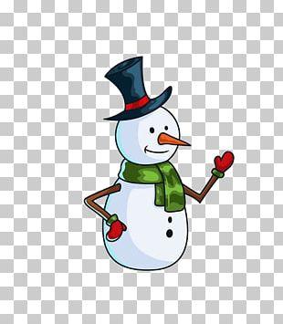 Printed T-shirt Snowman Cartoon PNG