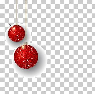 Bubble Shooter Christmas Balls Red PNG