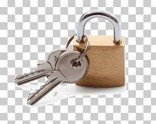 Padlock Key Pin Tumbler Lock Brass PNG