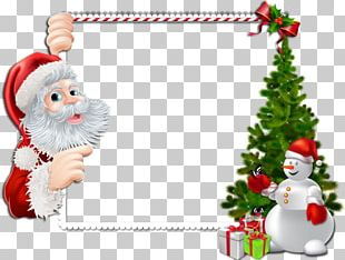 Santa Claus Borders And Frames Portable Network Graphics Christmas Day PNG