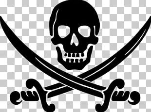 Piracy Jolly Roger PNG