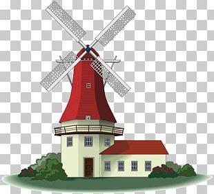 Windmill Windpump PNG