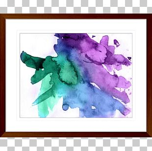 Watercolor Painting Watercolour Flowers Ink Wash Painting Art PNG