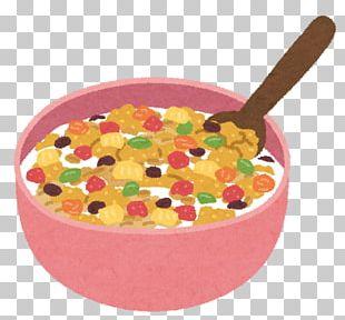 Breakfast Cereal Granola Food Muesli PNG