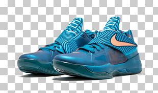 Sports Shoes Nike Zoom KD Line Blue PNG