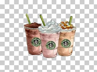 Coffee Drawing Starbucks Frappuccino PNG