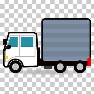 Commercial Vehicle Car Semi-trailer Truck Emoji PNG