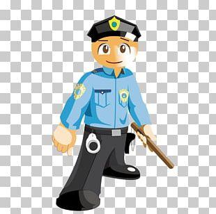 Police Cartoon Security Guard Career PNG