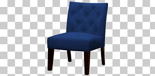 Eames Lounge Chair Navy Blue Furniture PNG