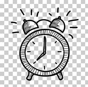 Alarm Clock Drawing PNG