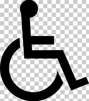Disability International Symbol Of Access Disabled Parking Permit Wheelchair Sign PNG