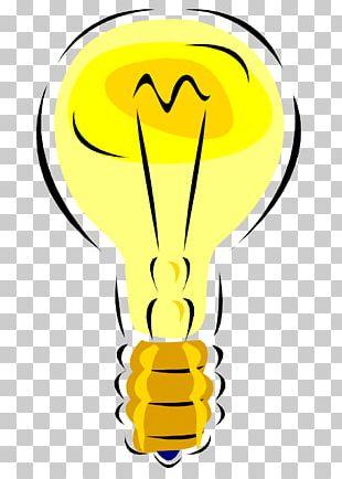 Incandescent Light Bulb Lamp Idea PNG