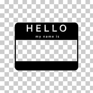 Name Tag Sticker Logo Label Brand PNG