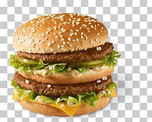 McDonald's Big Mac Cheeseburger Hamburger McDonald's Quarter Pounder Big N' Tasty PNG