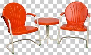 Garden Furniture Table Metal Furniture Chair PNG