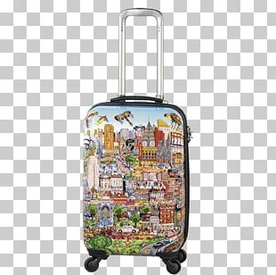 Hand Luggage Trunki Ride-On Suitcase Travel Trolley PNG