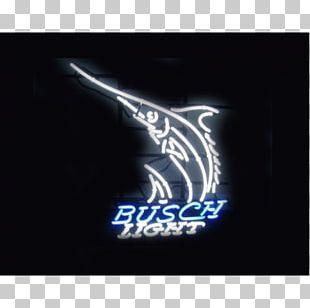 Budweiser Neon Sign Anheuser-Busch Light Beer PNG