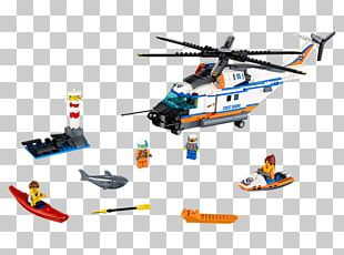 LEGO 60166 City Heavy-duty Rescue Helicopter Lego City Toy Hamleys PNG