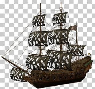 Brigantine Piracy Jack Sparrow Galleon Ship PNG