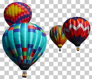 Hot Air Balloon Art Photography Watercolor Painting PNG