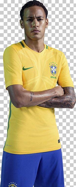 Neymar 2018 World Cup Jersey Brazil National Football Team T-shirt PNG