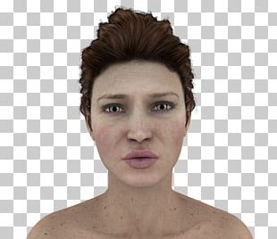 Facial Expression Face Model PNG