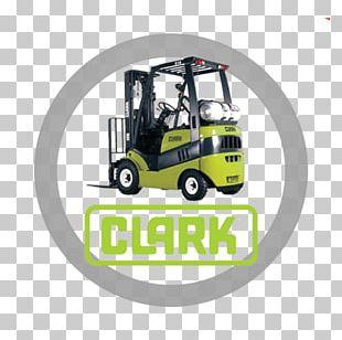 Forklift Clark Material Handling Company Liquefied Petroleum Gas Technique Machine PNG