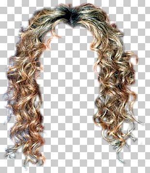 Wig Long Hair Ringlet Hairstyle Hair Coloring PNG