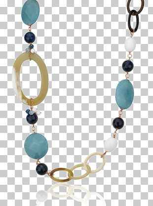 Turquoise Earring Necklace Bead Body Jewellery PNG